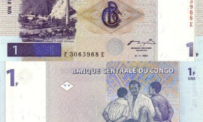 May 17, 1997 marks the advent of the Congolese franc