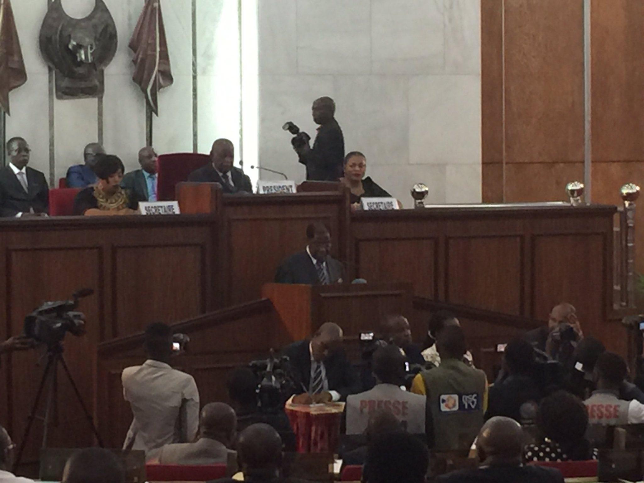 DRC: Thambwe Mwamba promises to boost Senate modernization!