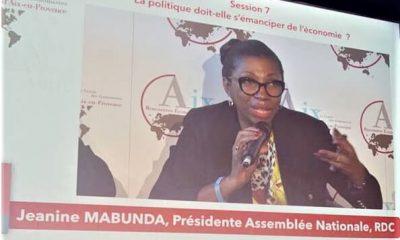 DRC: Mabunda's appeal to European economic operators from Aix-en-Provence