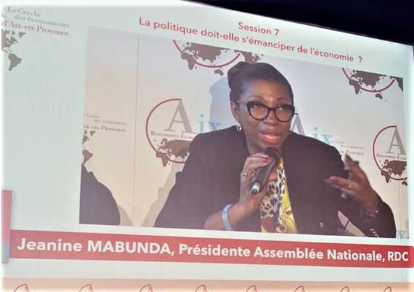 DRC: Mabunda's appeal to European economic operators from Aix-en-Provence