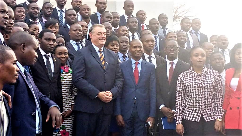 DRC: François Pujolas exchanges with enarques on the evolution of the profession of diplomat!