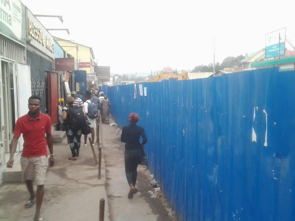 Kinshasa: work on overpasses disrupts economic activities in Pompage