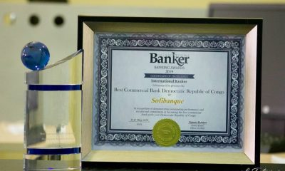 DRC: International Banker Awards SOFIBANQUE Two 2019 Best Bank Awards