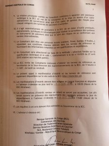 DRC: Central Bank launches a Notice to Expression of Interest