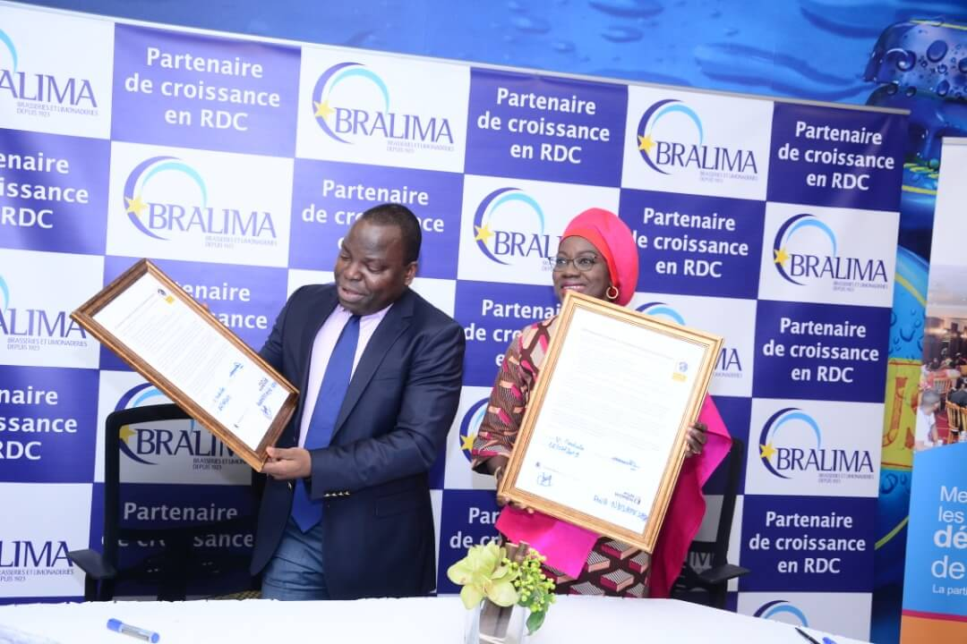 DRC: Bralima commits to the seven principles of women's empowerment