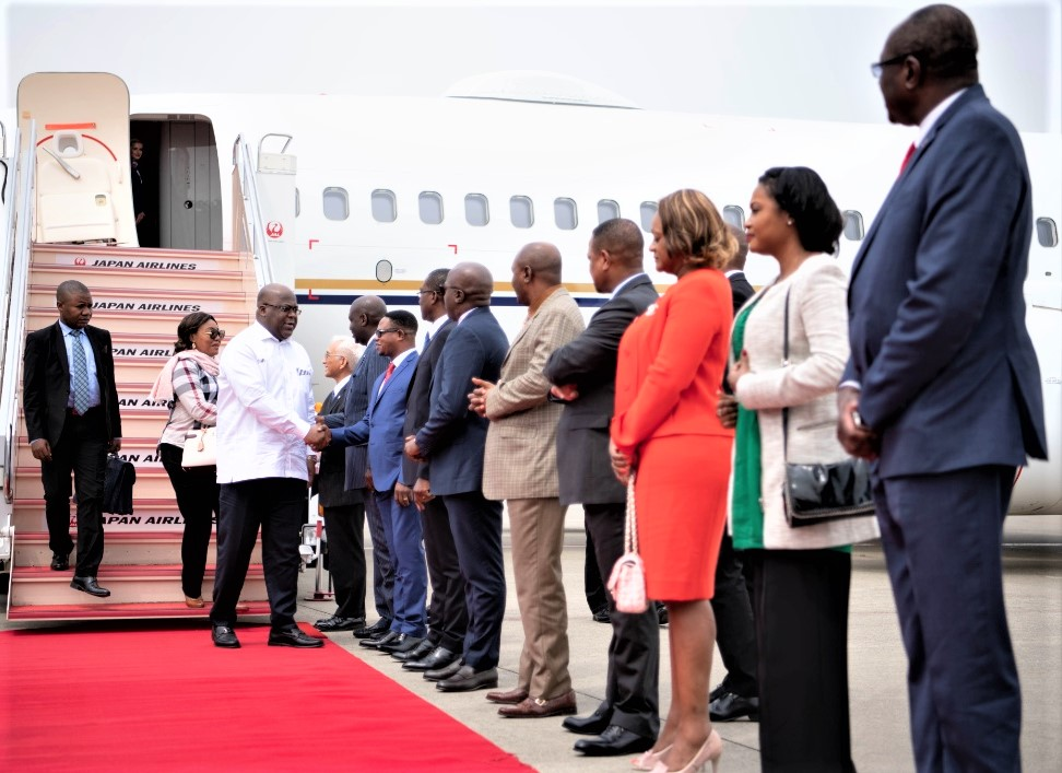 DRC-Japan: Tshisekedi's three economic priorities for TICAD VII