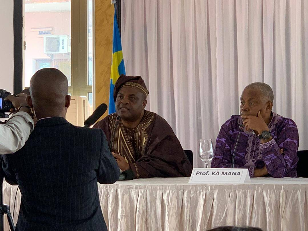 """DRC: """"Africa and the global neoliberal order"""", the new book co-authored by Freddy Mulumba and Kä Mana"""