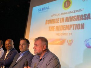 """DRC: Divo and partners announce """"The Rumble in Kinshasa"""""""