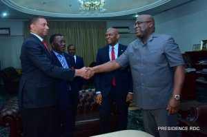 DRC: Tony Elumelu's three messages to President Tshisekedi