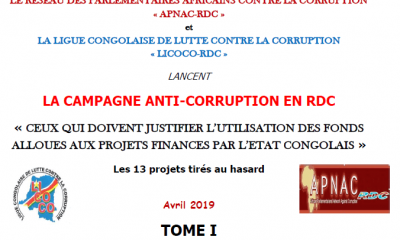 DRC: Two NGOs demand accountability for US $ billion allocated to 13 state projects