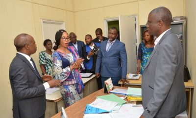 DRC: National economy, the Bandubola-Okito tandem is immersed in the working conditions of the staff