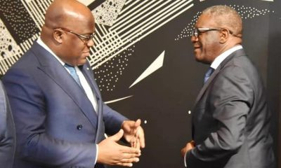 DRC: Tshisekedi supports Mukwege for the Global Fund for Sexual Violence Survivors