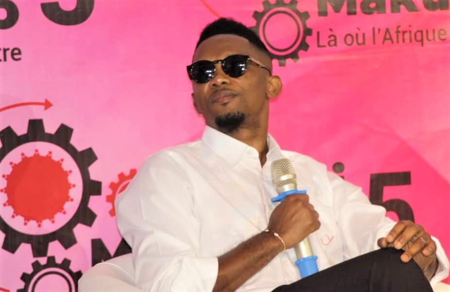 Africa: Samuel Eto'o announces the end of his career at the Makutano Forum in Kinshasa!