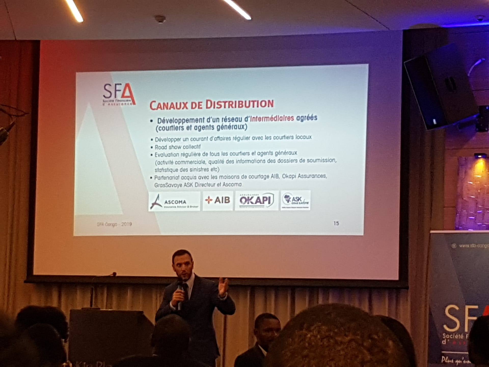 DRC: SFA combines the three qualities of an insurance operator approved by ARCA