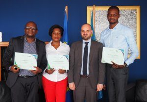 DRC: five green-journalists awarded at the Forests competition!