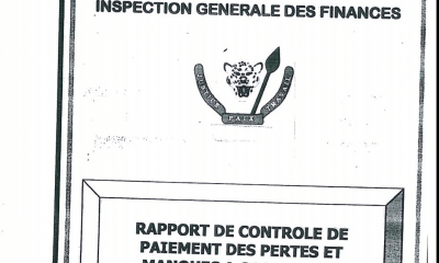 "DRC: four truths around the ""IGF"" mission on the $ 15 million haircut!"