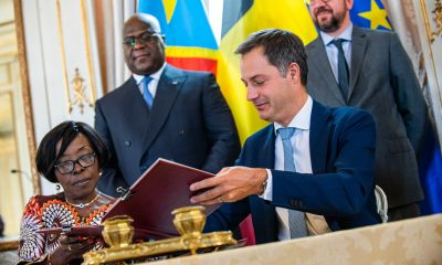 DRC - Belgium: three MoU signed to strengthen cooperation
