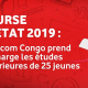 DRC: more than 241 candidates compete at Vodacom EXETAT 2019 Grant