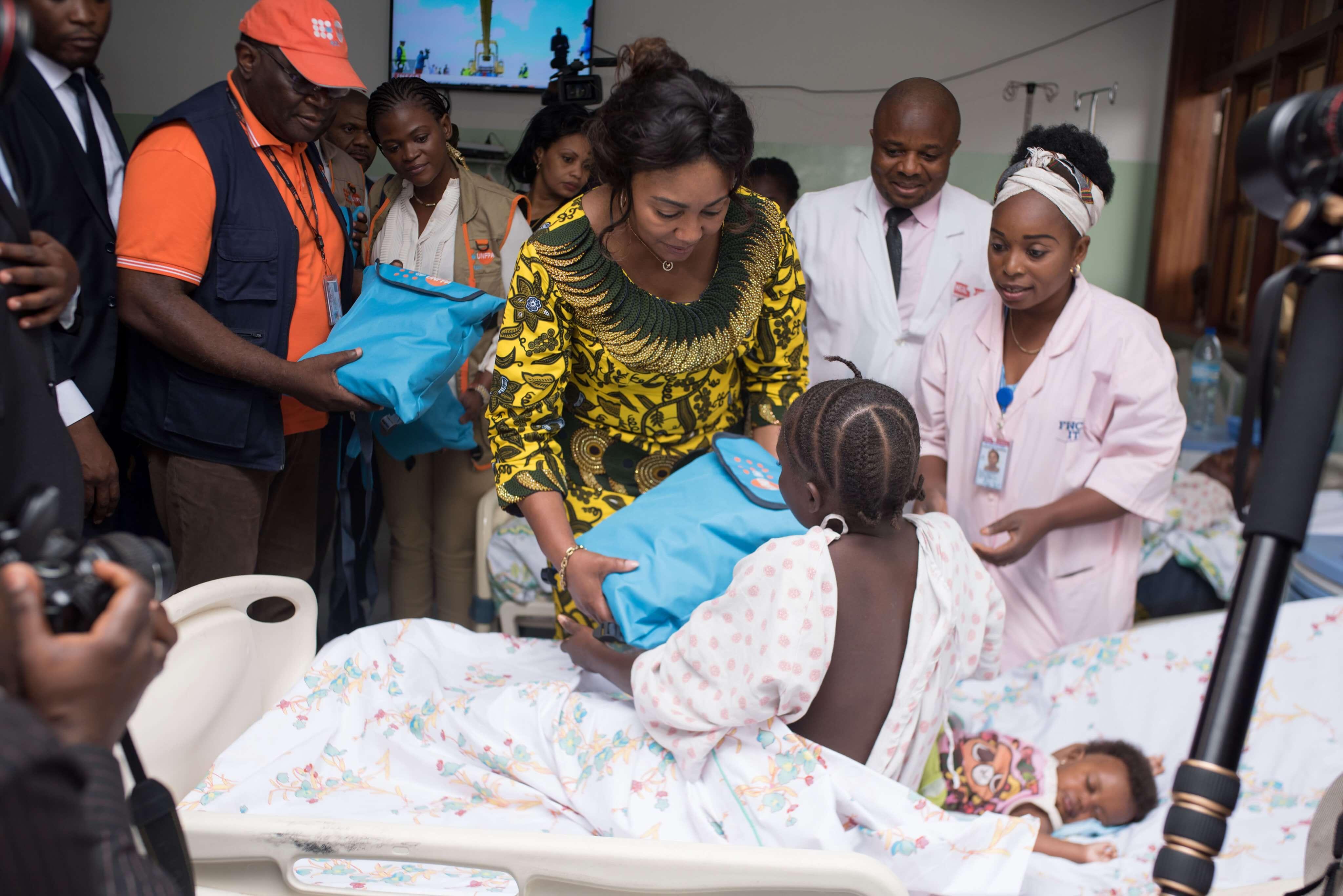 RDC: Fondation Denise Nyakeru, les projets sont financés par des bienfaiteurs