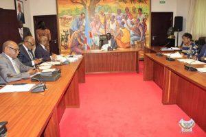 DRC: Prime Minister Ilunkamba held an economic situation meeting!