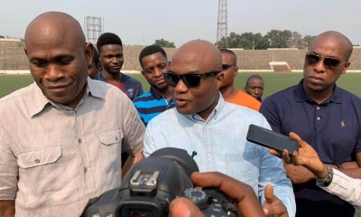 DRC: DIVO launches renovations to the Tata Raphael stadium